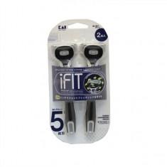 KAI  iFIT бритва безопасная мужская одноразовая с плавающей головкой,5 лезвий