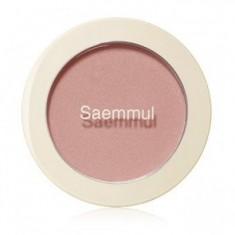 Румяна THE SAEM Saemmul Single Blusher CR01 Naked Peach 5гр