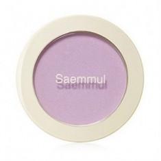 Румяна THE SAEM Saemmul Single Blusher PP01 Orchid Rumor 5гр