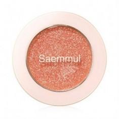 Тени для век с глиттером THE SAEM Saemmul Single Shadow (Glitter) OR03 1,6гр