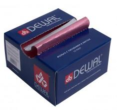 DEWAL PROFESSIONAL Фольга с тиснением, в коробке, розовая, 13 мкм, 127*279 мм 500 шт/уп