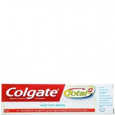 Зубная паста Total 12 Чистая мята COLGATE