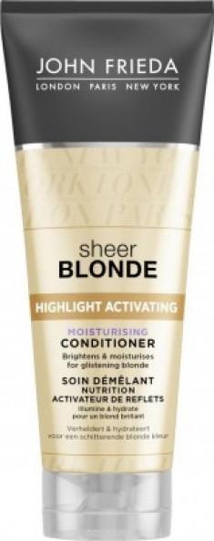 Увлажняющий активирующий кондиционер светлых волос John Frieda Sheer Blonde 250 мл