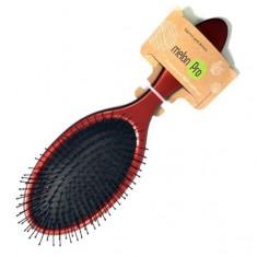 Melon pro щетка массажная для волос 11-ряд.,нейлон овал красная мр 468
