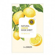 Маска тканевая с экстрактом лимона THE SAEM Natural Lemon Mask Sheet 21мл