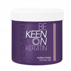 KEEN Маска восстанавливающая с кератином / KERATIN AUFBAU MASKE 200 мл