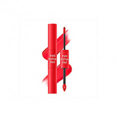 Тинт для губ двойной THE SAEM Two Texture Tint RD01 Half&Half Red 8гр
