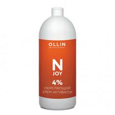 OLLIN, Окисляющий крем-активатор N-Joy 4%, 100 мл OLLIN PROFESSIONAL