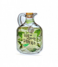 Маска тканевая фруктовая Green Tea Juicy Mask Sheet Moisture & Lifting 23гр Baviphat