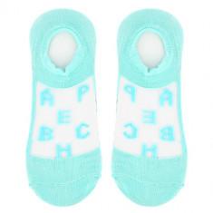 Носки женские SOCKS ALPHABET Blue, р-р единый