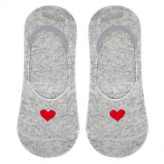 Носки женские SOCKS HEART Grey, р-р единый