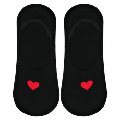 Носки женские SOCKS HEART Black, р-р единый