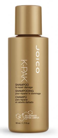 JOICO Шампунь восстанавливающий для поврежденных волос / K-PAK 50 мл