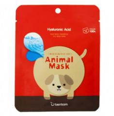 Маска тканевая с гиалуроновой кислотой Berrisom Animal mask series Dog 25мл