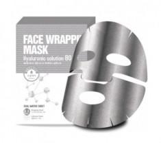 Маска для лица с гиалуроновой кислотой Berrisom Face Wrapping Mask Hyaruronic Solution 80 27мл