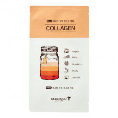 Маска тканевая Коллаген SKINFOOD Boosting Juice 2-step Mask Sheet COLLAGEN 23мл