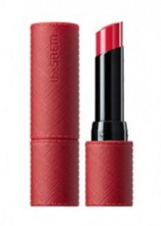 Помада для губ матовая THE SAEM Kissholic Lipstick S RD04 Rose Addict 4,1г