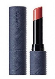 Помада для губ THE SAEM Kissholic Lipstick Leather Glow CR02 About Time 3,7г