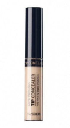 Консилер THE SAEM Cover Perfection Tip Concealer 01 Clear Beige 6,5г