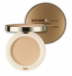 Пудра компактная THE SAEM Eco Soul Perfect Cover Pact 23 Natural Beige 11гр