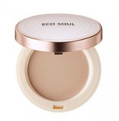 Пудра санскрин THE SAEM Eco Soul UV Sun Pact 23 Natural Beige 11г