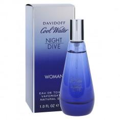 DAVIDOFF COOL WATER NIGHT DIVE Туалетная вода женская 30мл