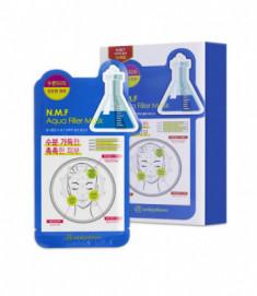 Маска для лица тканевая увлажняющая Mijin Uniquleen N.M.F. Aqua Filler Mask 26гр