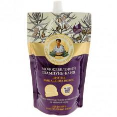 Рецепты Бабушки Агафьи Шампунь-баня для волос Можжевеловый против выпадения 500мл