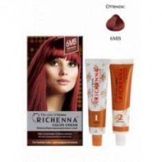 Richenna Color Cream 6 mb - Крем-краска для волос с хной, красное дерево