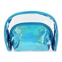 Набор косметичек LADY PINK MERMAID перламутровая голубая 2 шт