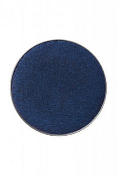 Тени пастель компактные (сухие) Make-Up Atelier Paris PL20 черно-синий, запаска 3,5г