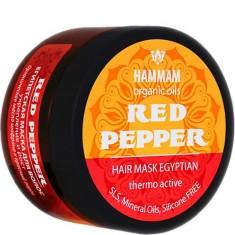Египетская маска для волос Red Pepper Укрепление и рост HAMMAM ORGANIC OILS