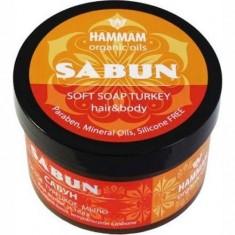 Густое турецкое мыло Sabun HAMMAM ORGANIC OILS