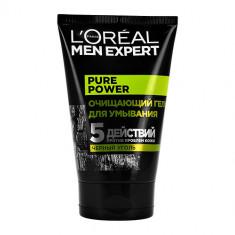 Гель для умывания LOREAL MEN EXPERT для проблемной кожи с черным углем 100 мл