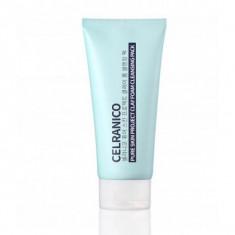 многофункциональная очищающая маска-пенка с глиной celranico pure skin project clay foam cleansing pack