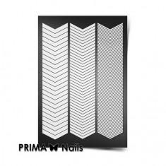 Prima Nails, Трафареты «Шевроны»