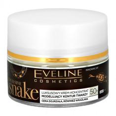 Крем для лица EVELINE EXCLUSIVE SNAKE дневной и ночной 50+ глубоко восстанавливающий 50 мл