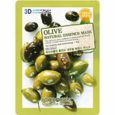 Маска для лица Olive Natural Essence 3D FoodaHolic