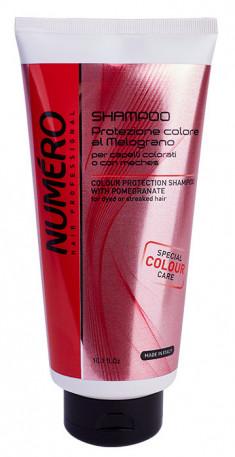 BRELIL PROFESSIONAL Шампунь с экстрактом граната для защиты цвета окрашенных и мелированных волос / Numero 300 мл