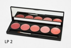 Палитра помад 5 оттенков (5 Lip Palette) MAKE-UP-SECRET LP2