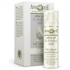Aphrodite Крем для кожи вокруг глаз с молоком ослиц 30 мл