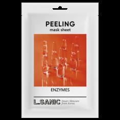 Обновляющая тканевая маска с энзимами L.SANIC ENZYMES PEELING MASK SHEET 25 мл