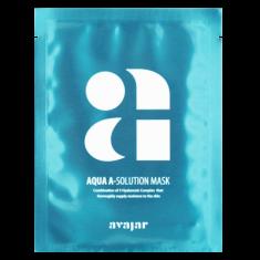 Маска увлажняющая тканевая для сухой обезвоженной кожи Avajar Aqua A-Solution Mask 10 шт