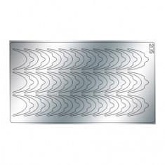 Freedecor, Металлизированные наклейки №205, серебро