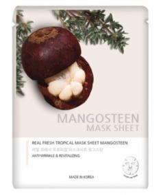 Маска тканевая с экстрактом мангостина JUNGNANI REAL FRESH TROPICAL MASK MANGOSTEEN 25мл
