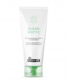 DR. BRANDT Средство очищающее с хлорофиллом на основе йогурта для снятия макияжа / Prebiotics 100 мл