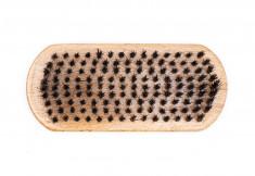 DEWAL PROFESSIONAL Щетка для укладки бороды, натуральная щетина, 9-рядная