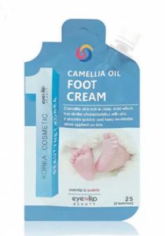 Крем для ног с маслом камелии Eyenlip POCKET CAMELLIA OIL FOOT CREAM 25г