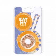 EAT MY BOBBLES Резинка для волос в цвете Апельсиновый леденец 3 шт