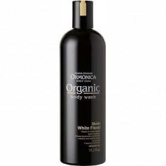 Органическое жидкое мыло для тела увлажняющее аромат белых цветов ORMONICA